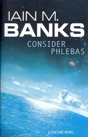 Book cover for Consider Phlebas by Iain M. Banks