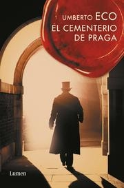 Book cover for The Prague Cemetery by Umberto Eco