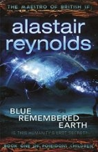 Book cover for Blue Remembered Earth by Alastair Reynolds