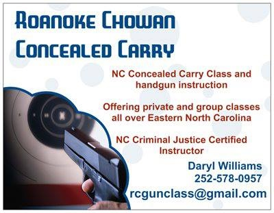 https://www.facebook.com/pages/Roanoke-Chowan-Concealed-Carry-and-Handgun-Training/125123607516253