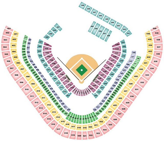 Los Angeles Angels Seating Chart Angelsseatingchart