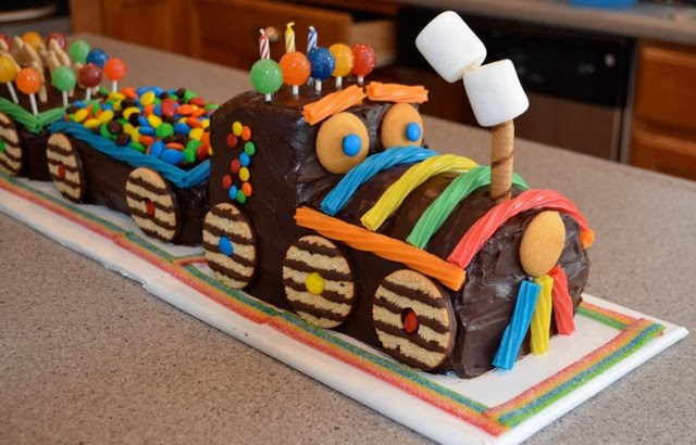 I Personally Think This Is One Of The Cutest Train Cakes That Have Ever Seen If You Any Questions Or Comments Feel Free To E Mail Me
