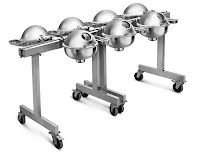 *Portable Seven Chafer Trolley - Flexi Setting