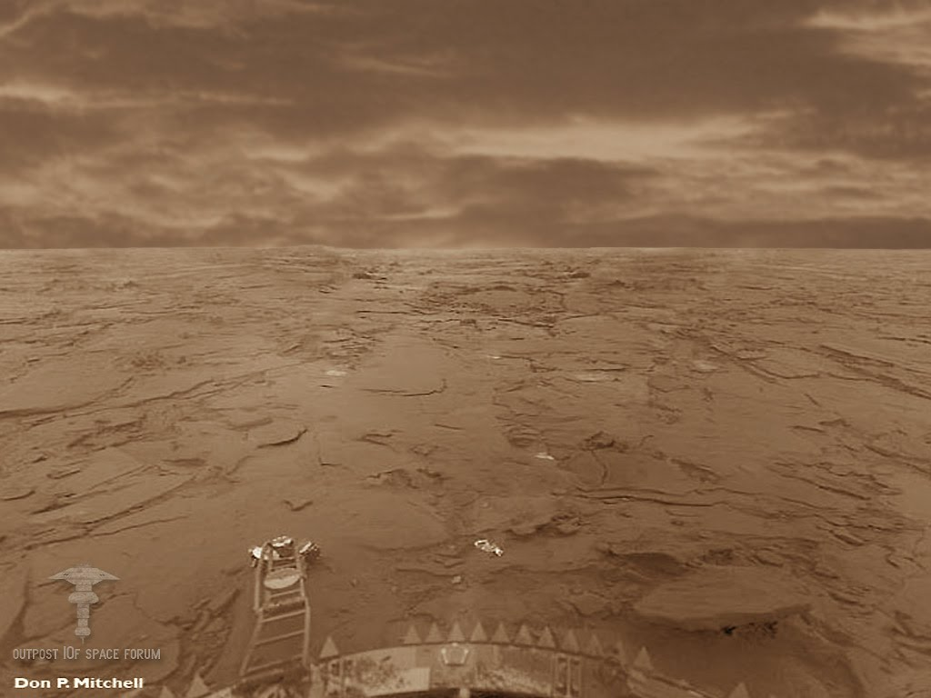 surface of venus russian probe - photo #25