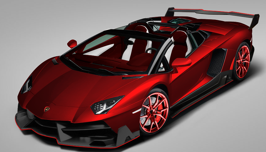 Customize your own lamborghini