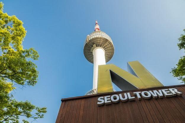 พาเที่ยว N Seoul Tower หรือ หอคอยโซล แลนมาร์คสำคัญในประเทศเกาหลีใต้