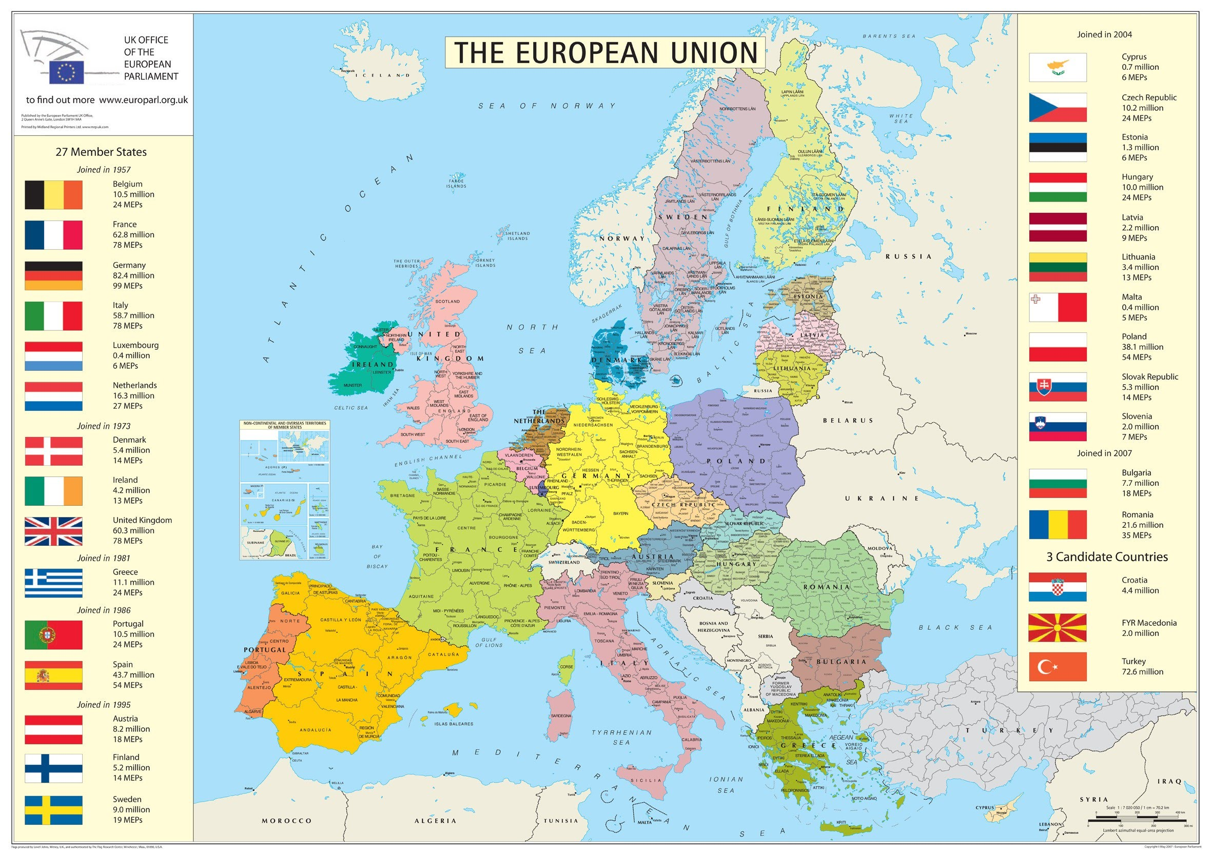 geography map of europe AP Human Geography