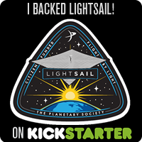 I BACKED LIGHTSAIL ON KICKSTARTER