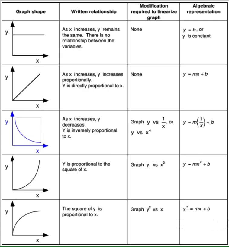 Graphing Linearization Ap Physics 1 Online. Video How To Linearize Data. Worksheet. Physics Worksheet Creator At Clickcart.co