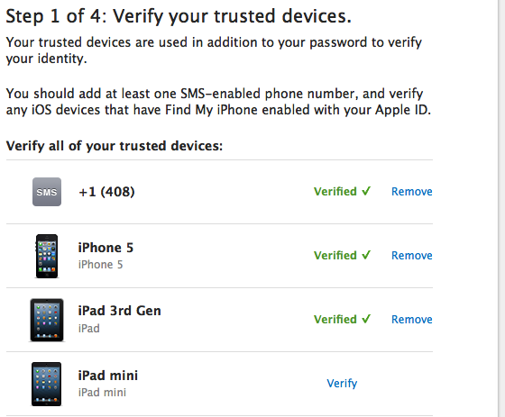 Enabling Two-Step Verification for your Apple ID - Apple Club