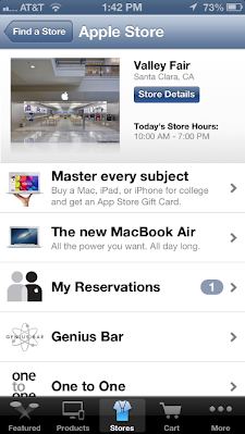 how to change my genius bar appointment