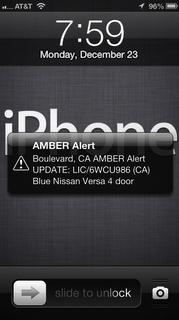 amber alert on iphone iphone about emergency and alerts apple club 1225