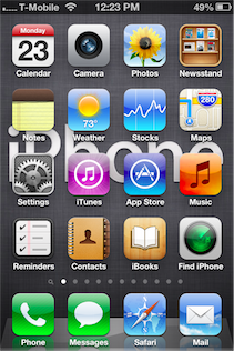 app disappeared from iphone home screen home screen missing app facetime itunes or other 18285