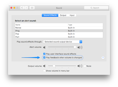 Volume Feedback has no Sound in OS X 10 10 or Later - Apple Club