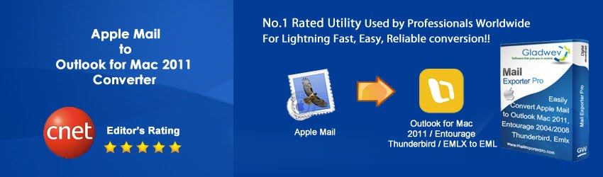 Apple Mail to Outlook for Mac 2011 Converter