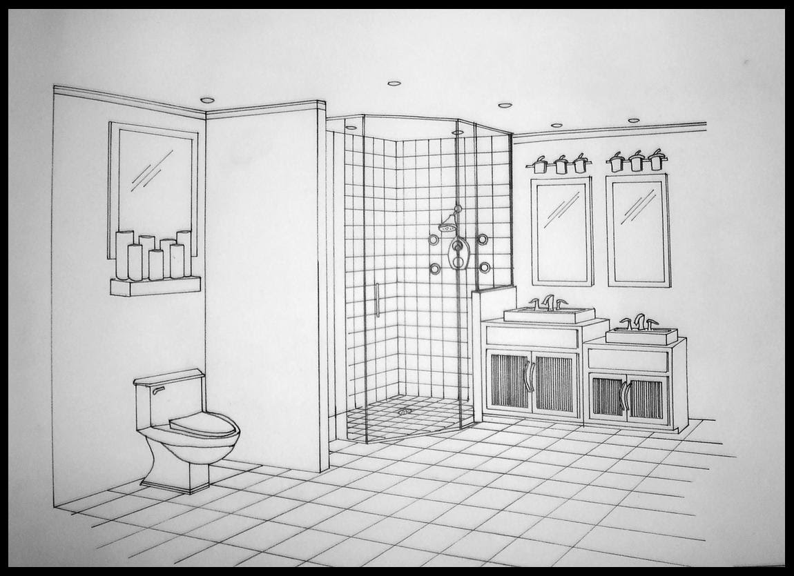 Home222 aprilharbour for Bathroom design drawings