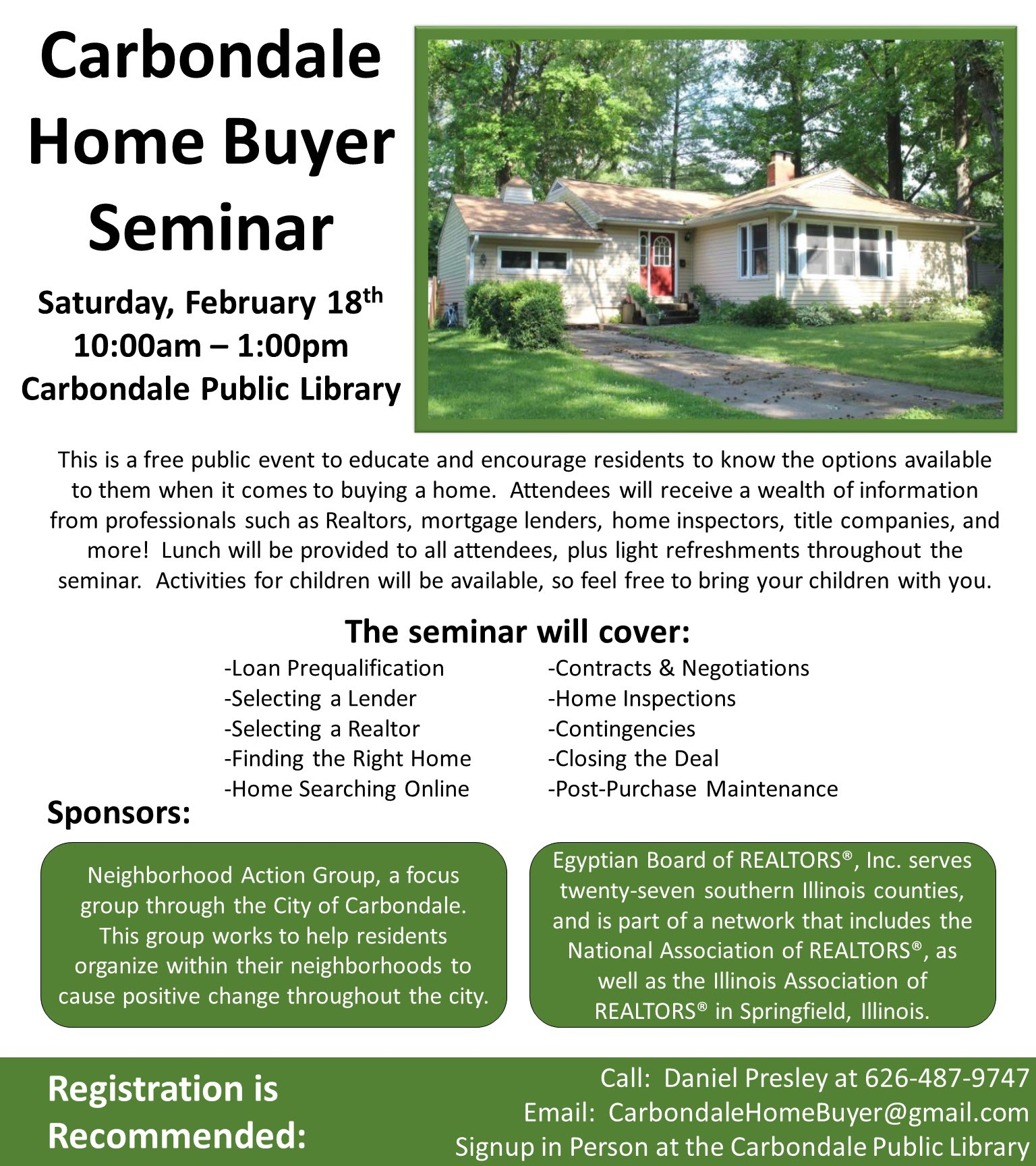 2017 Home Buyer Education Seminar
