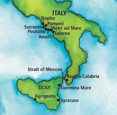 Early Life Archimedes Legacy James Crook - Syracuse map italy
