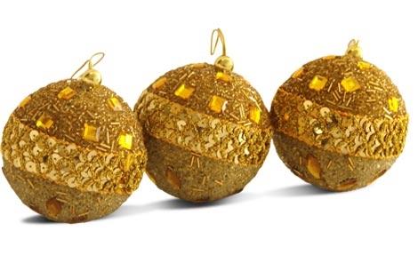 Bolas areacountry08 - Bolas de navidad doradas ...
