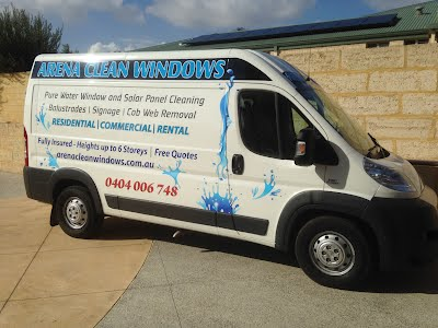 Arena Clean Windows & Solar Panels Perth for a Spot free finish