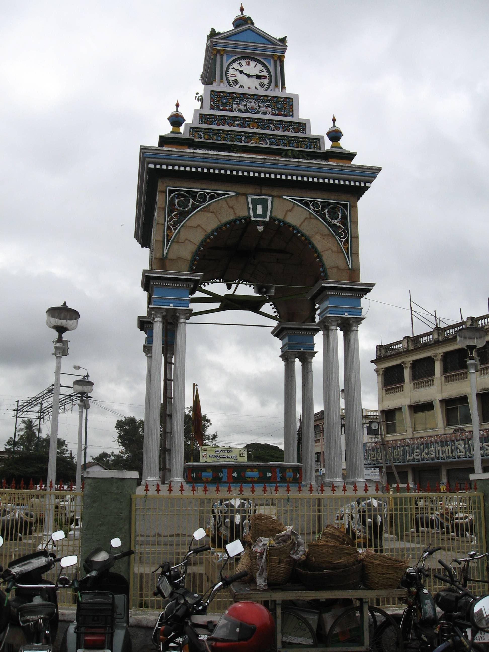 small clock tower mysore