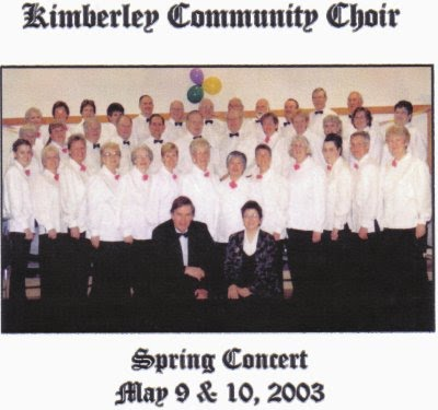 Kimberley Community Choir