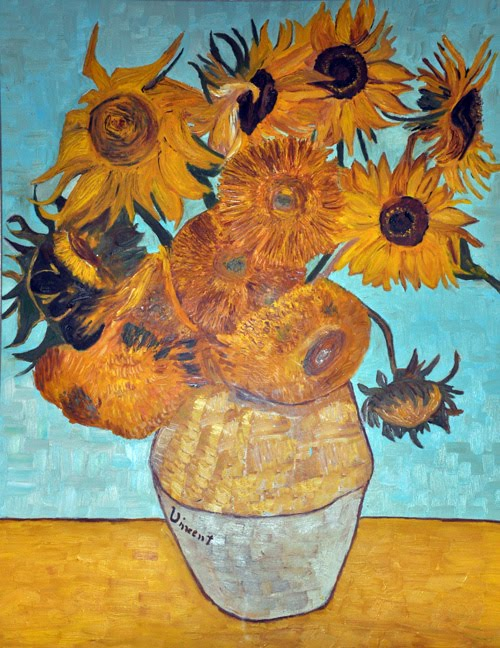 Matrimonio Girasoli Van Gogh : Vaso con girasoli around my art