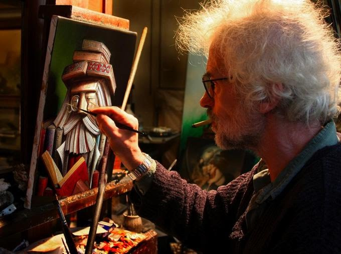 Biographie et bibliographie d 39 andr martins de barros for Biographie artiste peintre