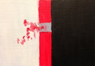 ACEO-East-West Abstract 106-Cristina Stefan - Art Studio 29