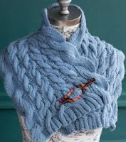 Ruffled Capelet in 60 Quick Cotton Knits
