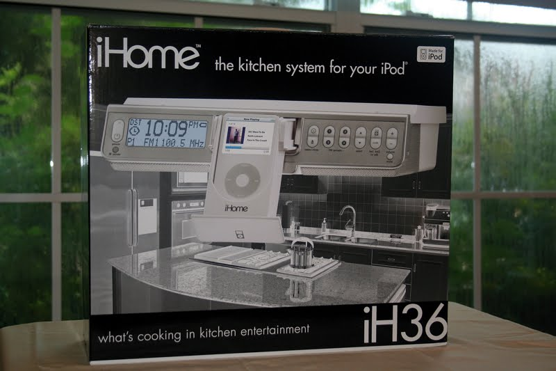 Brand New Ihome Ih36 Under Cabinet Ipod Stereo System With Fm