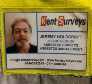 This is what an experienced asbestos surveyor looks like!