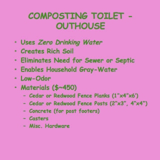 how to build a composting toilet outhouse