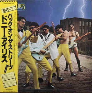 Donnie Iris - Back On The Streets - 33T