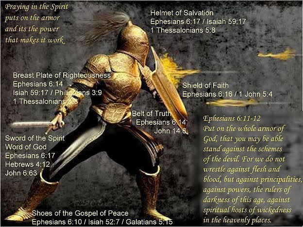 Time to put on the armor and get ready.... Cloud Bible Study - Rapture Debate in process