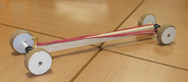 Teaching and Learning - Rubber Band Car - Assessment 2 EDFD472