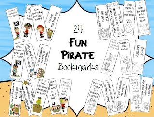 http://www.teacherspayteachers.com/Product/Fun-Pirate-Bookmarks-1264694