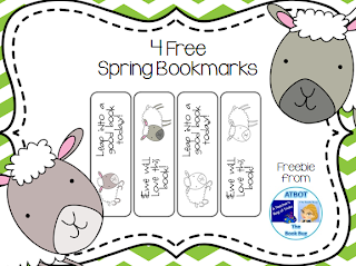 https://www.teacherspayteachers.com/Product/4-Free-Spring-Bookmarks-652886
