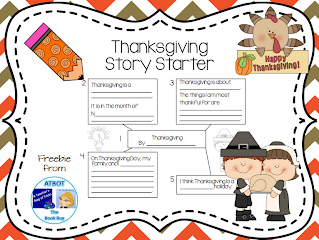 https://www.teacherspayteachers.com/Product/Thanksgiving-Story-Starter-414051