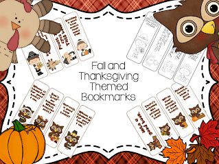 https://www.teacherspayteachers.com/Product/Fall-and-Thanksgiving-Bookmarks-404615