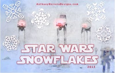 http://anthonyherreradesigns.com/index.php/snowflake-patterns/star-wars-snowflakes/star-wars-2013-collection