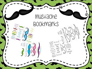 https://www.teacherspayteachers.com/Product/Mustache-Themed-Bookmarks-1833369