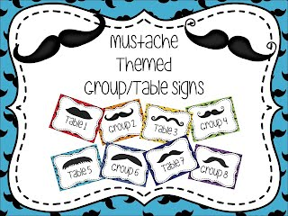 https://www.teacherspayteachers.com/Product/Mustache-Themed-GroupTable-Signs-1833433