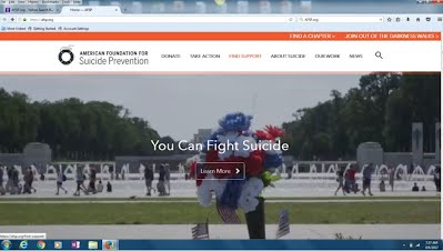 American Society for Suicide Prevention Site