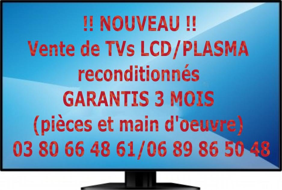r paration cran tv lcd plasma dijon. Black Bedroom Furniture Sets. Home Design Ideas