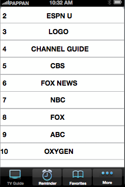Athens TV Guide