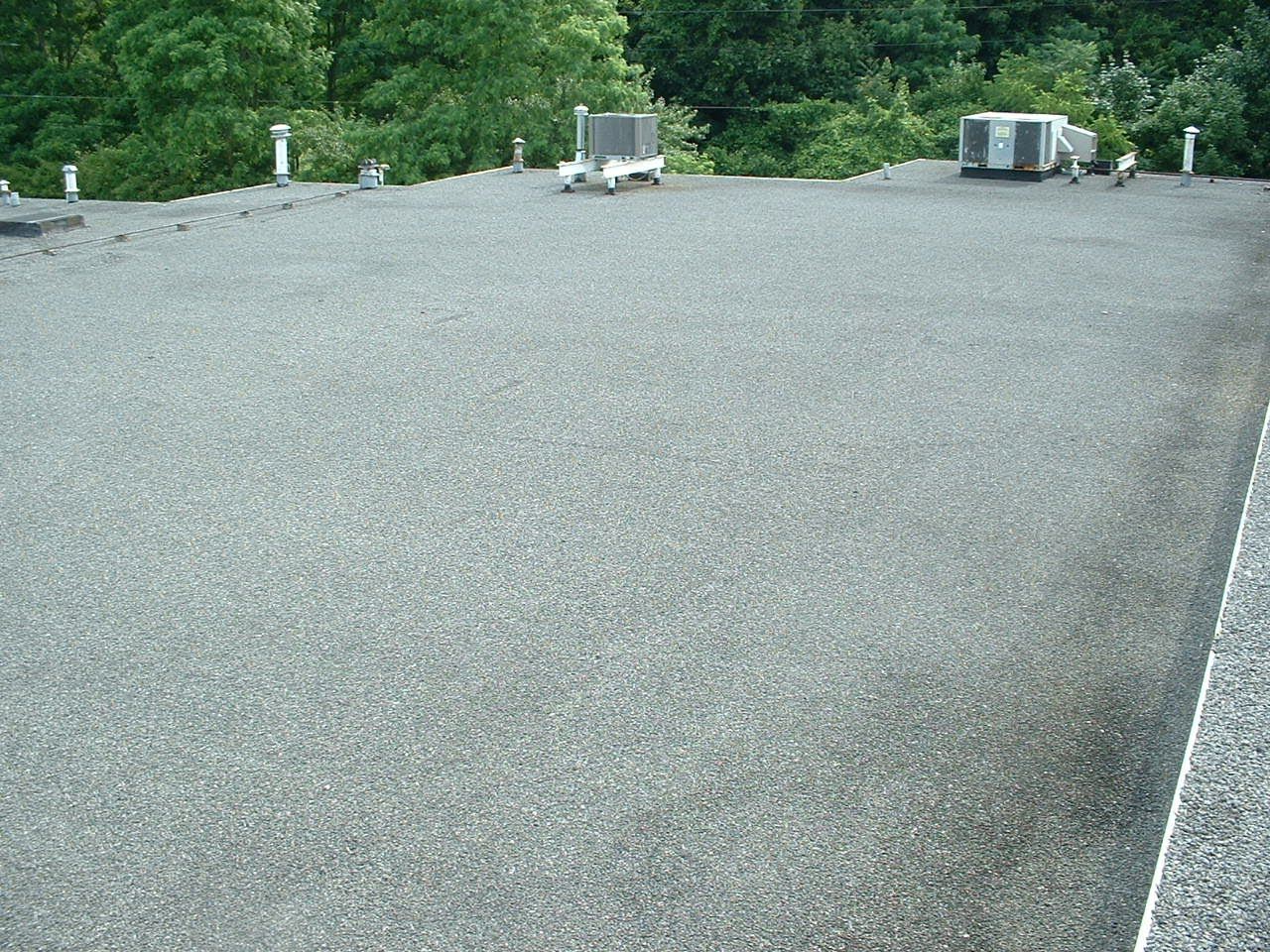 New 4 Ply Asphalt And Gravel Manville Total Roof System By Atlas Roofing  Company Inc
