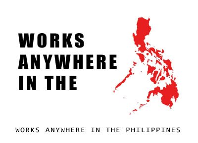 Works anywhere in Phils