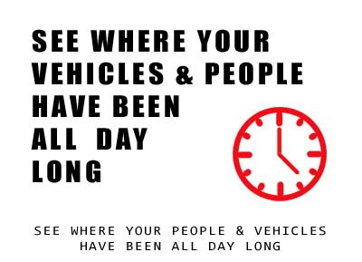 See where your Vehicles & People Have Been