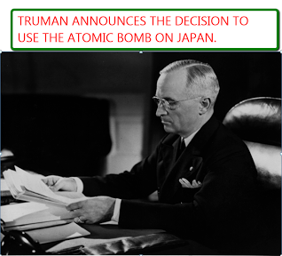 the decision to use the atomic A) the decision to use atomic weapons was authorized by the soviet union and great britain b) the decision to use atomic weapons was based on a desire for revenge for the attack on pearl harbor c) given the destruction caused by atomic weapons, the japanese government should surrender immediately.